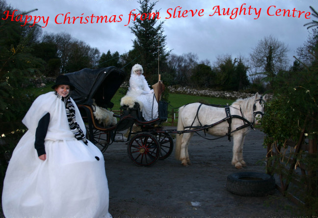 Things to do in County Galway, Ireland - An Enchanted Christmas | Slieve Aughty - Santa arrives December 1st - YourDaysOut - Photo 1