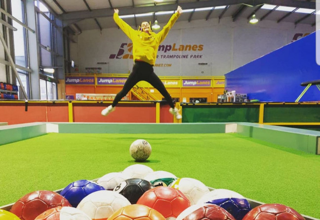 Things to do in County Roscommon, Ireland - JumpLanes Athlone - Soccer Pool - YourDaysOut - Photo 2