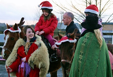 Things to do in County Galway, Ireland - An Enchanted Christmas | Slieve Aughty - pony rides - YourDaysOut - Photo 5