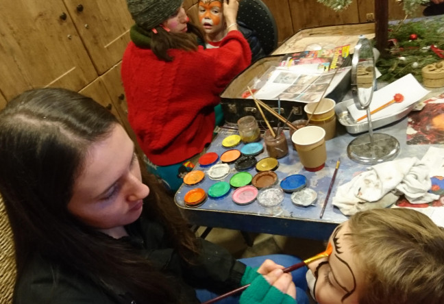 Things to do in County Galway, Ireland - An Enchanted Christmas | Slieve Aughty - Facepainting - YourDaysOut - Photo 4