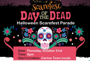Things to do in County Carlow, Ireland - Day of the Dead Parade | Scarefest Carlow - YourDaysOut