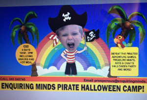 Things to do in County Kildare, Ireland - Halloween Pirate Camp - YourDaysOut