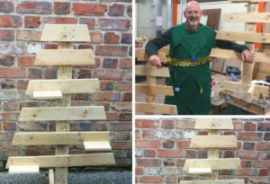 Things to do in County Dublin, Ireland - Make a Christmas Tree from Pallets - YourDaysOut