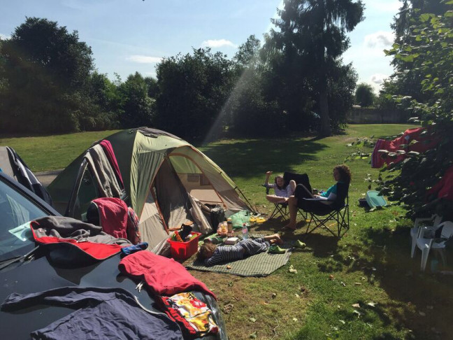 Camping with kids - YourDaysOut