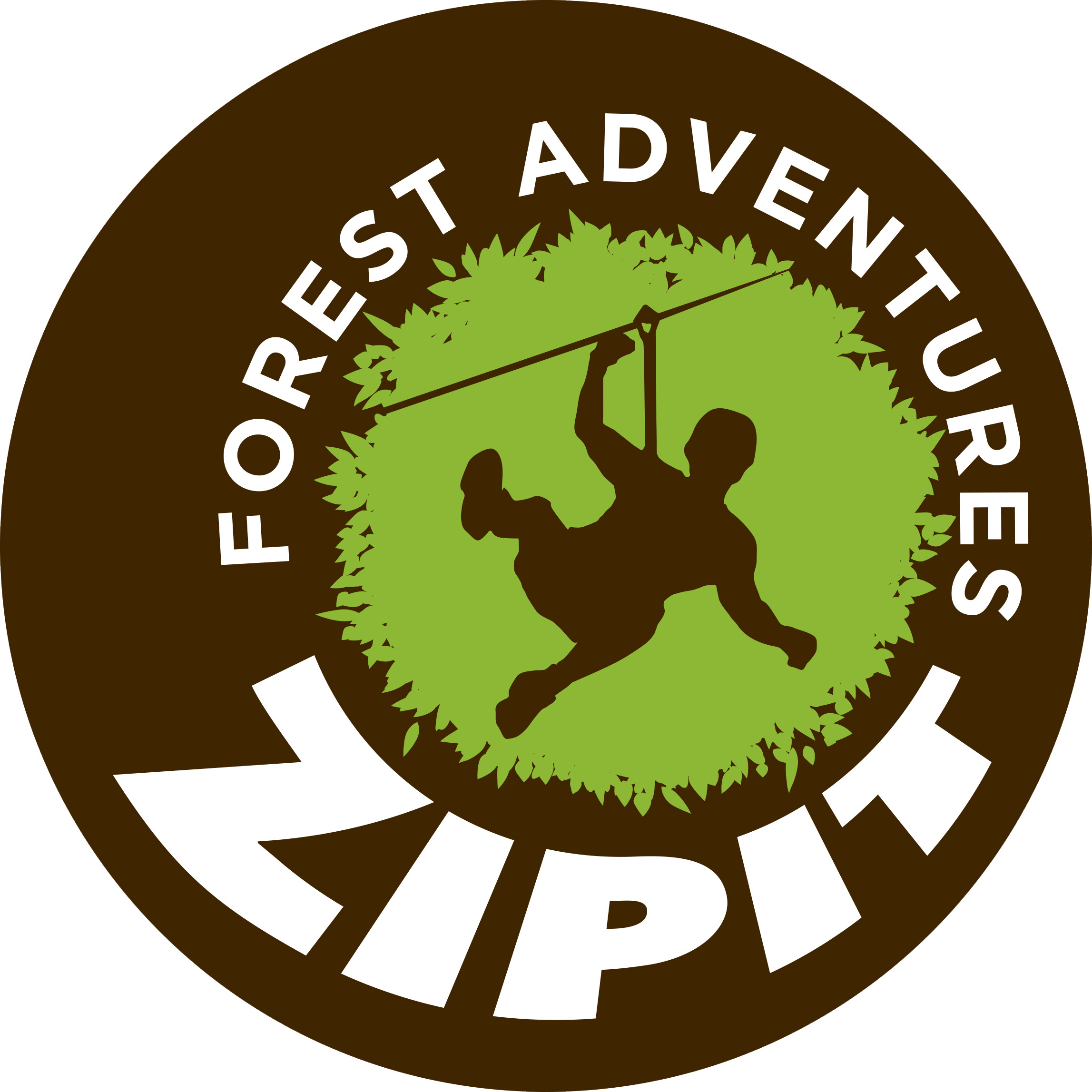 Zipit Forest Adventures, Cork logo