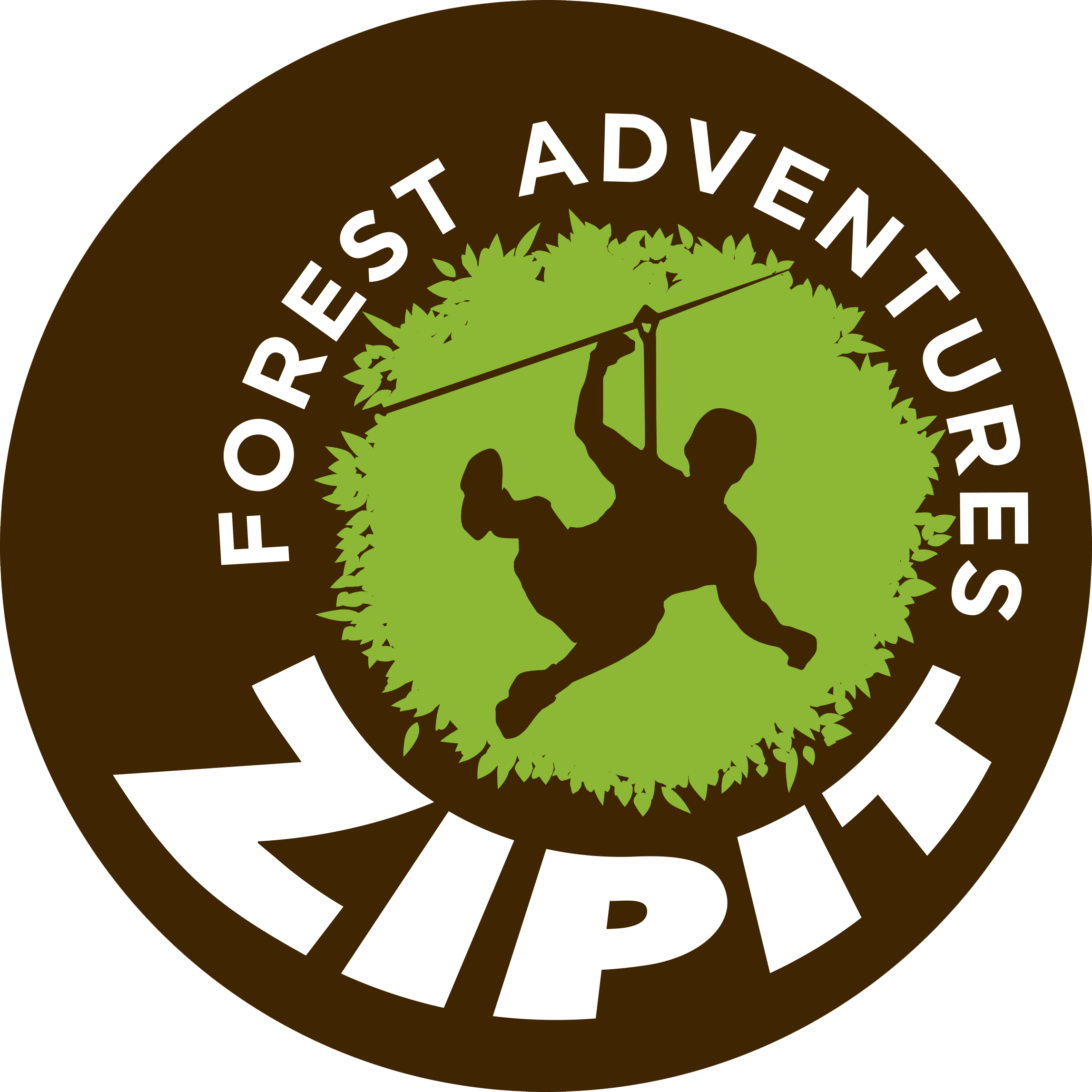 Zipit Forest Adventures, Dublin logo