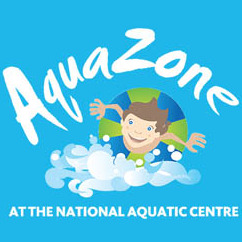 National Aquatic Centre-AquaZone logo